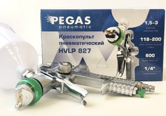Краскопульт Pegas HVLP 827 сопло 2мм