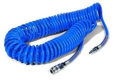 Шланг спиральный синий с быстросъмными соед. профи 20 м 5х8мм