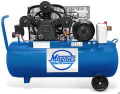 Компрессор воздушный Magnus KW-750/250 (8атм.,5,5кВт, 380В)