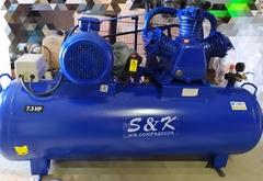 Компрессор S&K  TP1200/300/5,5кВт/8 атм/ремен. пер 380v
