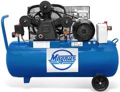 Компрессор воздушный Magnus KW-525/100А (8атм.,3,0кВт, 220В)
